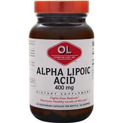 OLYMPIAN LABS Alpha Lipoic Acid (400mg) 60 caps