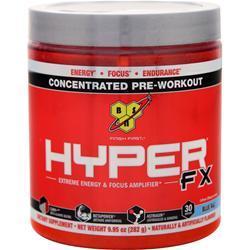 BSN Hyper FX - Concentrated Energy Formula Blue Raz 11.42 oz