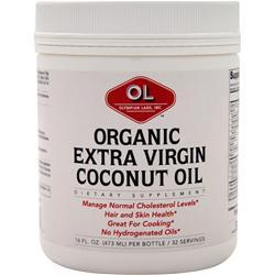 Olympian Labs Organic Extra Virgin Coconut Oil 16 fl.oz