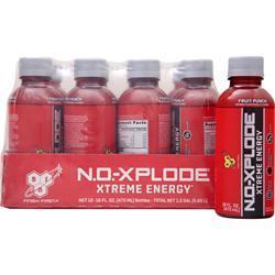 BSN N.O.-Xplode RTD Fruit Punch 12 bttls