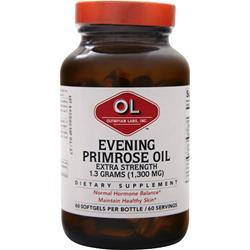 Olympian Labs Evening Primrose Oil - Extra Strength (1300mg) 60 sgels