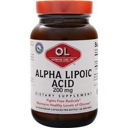 Olympian Labs Alpha Lipoic Acid (200mg) 60 caps