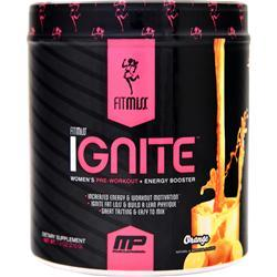FITMISS Ignite - Women's Pre Workout + Energy Booster Orange 7.4 oz