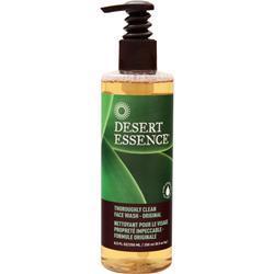 DESERT ESSENCE Thoroughly Clean Face Wash - Original Tea Tree Oil 8.5 fl.oz