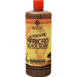 Alaffia African Black Soap Vanilla Almond 32 fl.oz