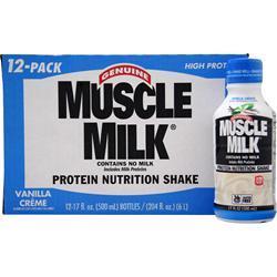 Cytosport Muscle Milk RTD Vanilla Creme  (17 fl. oz) 12 bttls