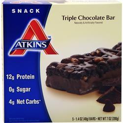 Atkins Snack Bar Triple Chocolate 5 bars