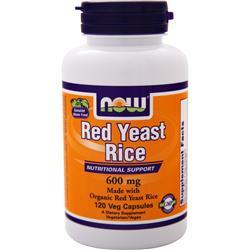 Now Red Yeast Rice (600mg) 120 vcaps