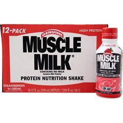 CYTOSPORT Muscle Milk RTD Banana Cream (17 fl.oz.) 12 bttls