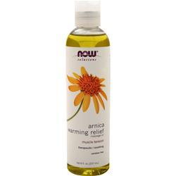 Now Arnica Warming Relief Massage Oil 8 fl.oz