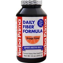 Yerba Prima Daily Fiber Powder Orange 16 oz