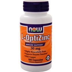 Now Opti L-Zinc 100 caps