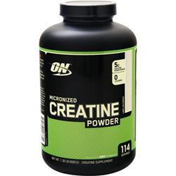 Optimum Nutrition Micronized Creatine Powder Unflavored 600 grams