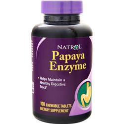 Natrol Papaya Enzyme (Chewable) 100 tabs