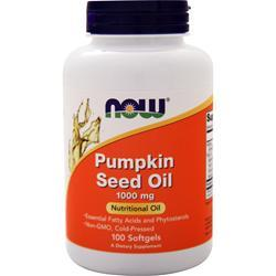 NOW Pumpkin Seed Oil (1000mg) 100 sgels