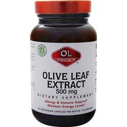 Olympian Labs Olive Leaf Extract (500mg) 60 caps
