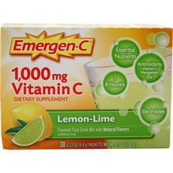 Alacer Emergen-C Lemon Lime 30 pckts