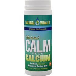 Natural Vitality Natural Calm Plus Calcium Raspberry Lemon 16 oz