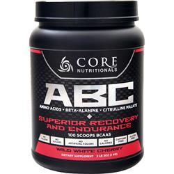 Core Nutritionals ABC - Superior Recovery and Endurance Wild White Cherry 1 kg