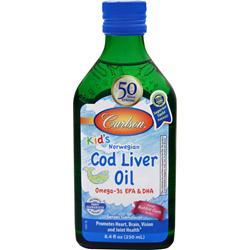Carlson for kids - Norwegian Cod Liver Oil Bubble Gum 8.4 fl.oz