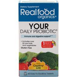 COUNTRY LIFE Real Food Organics - Your Daily Probiotic 3.1 oz