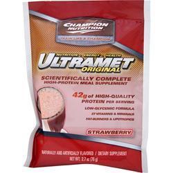 Champion Nutrition Ultramet Strawberry 60 pckts