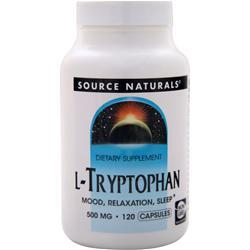 Source Naturals L-Tryptophan (500mg) 120 caps