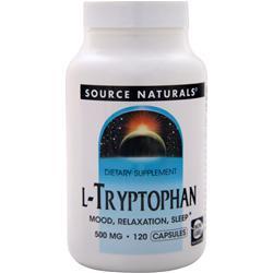 SOURCE NATURALS L-Tryptophan (500mg) 120 caps