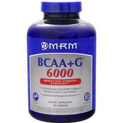 MRM BCAA plus G 6000 150 caps