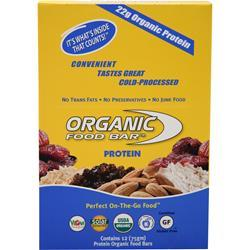 Organic Food Bar Protein Bar 12 bars