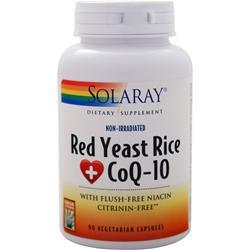 Solaray Red Yeast Rice Plus CoQ-10 90 vcaps