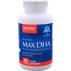Jarrow Max DHA 180 sgels