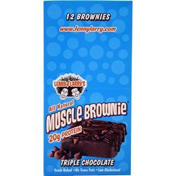 Lenny and Larry's Muscle Brownie Triple Chocolate 12 pckts