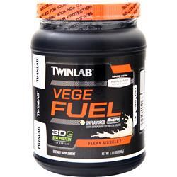 TwinLab Vege Fuel - 100% Soy Protein Unflavored 1.18 lbs