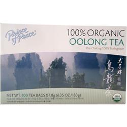Prince of Peace Organic Oolong Tea 100 pckts