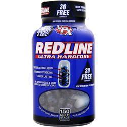 VPX SPORTS Redline Ultra Hardcore 150 caps