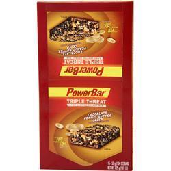PowerBar Triple Threat Bar Chocolate PB Crisp 15 bars