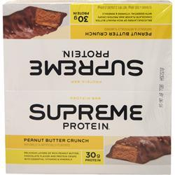 Supreme Protein Bar Carb Conscious Peanut Er Crunch 12 Bars