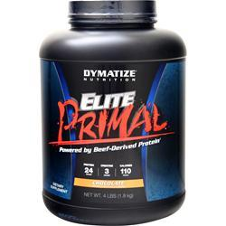 Dymatize Nutrition Elite Primal - Powered by Beef-Derived Protein Chocolate 4.1 lbs
