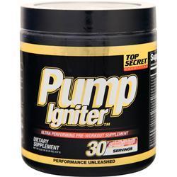 Top Secret Nutrition Pump Igniter - Pre Workout Cherry Limeade 234 grams