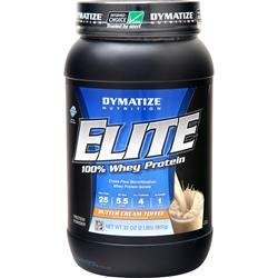 Dymatize Nutrition Elite 100% Whey Protein Cookies & Cream 5 lbs