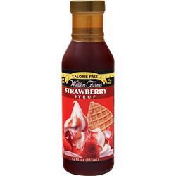 Walden Farms Strawberry Syrup 12 fl.oz
