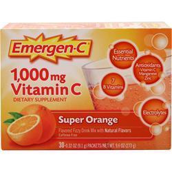 Alacer Emer'gen-C Super Orange 30 pckts
