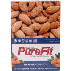 Purefit PureFit Nutrition Bar Almond Crunch 15 bars