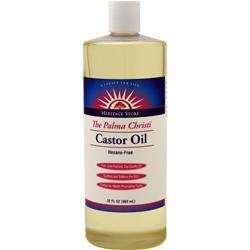 Heritage Products The Palma Christi Castor Oil 32 fl.oz