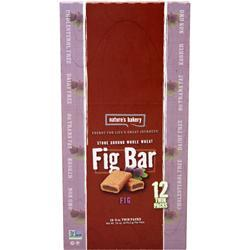Nature's Bakery Fig Bar Whole Wheat (12TwinPacks) 24 bars