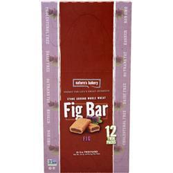 NATURE'S BAKERY Fig Bar Whole Wheat (12TwinPacks) 24 bars