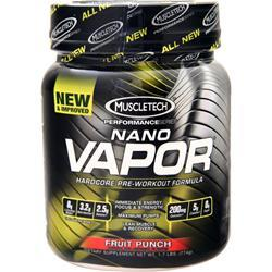 Muscletech Nano Vapor - Performance Series Blue Raspberry 1.7 lbs