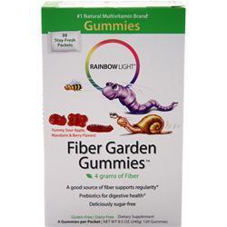 Rainbow Light Fiber Garden Gummies Sour Apple/Mandarin/Berry 30 pckt
