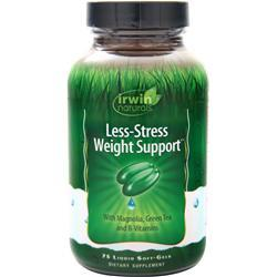 Irwin Naturals Less-Stress Weight Support 75 sgels